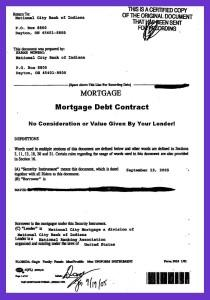 mortagage-loan-debt-contract