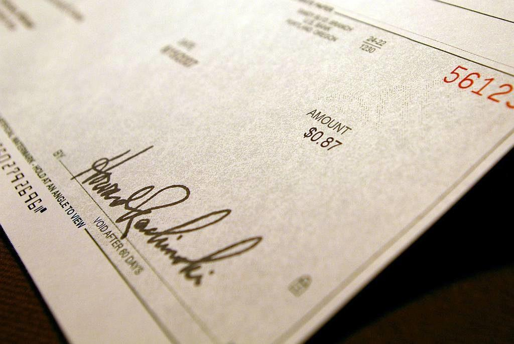 A Check Is A Promissory Note Negotiable Security Instrument