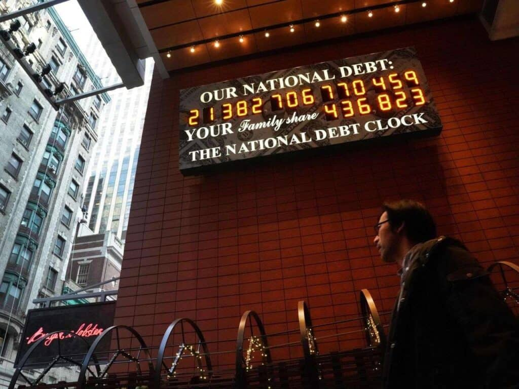 Deficits don't matter misnomer concerning the u s national debt