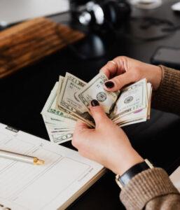 Finance and insurance card jpg
